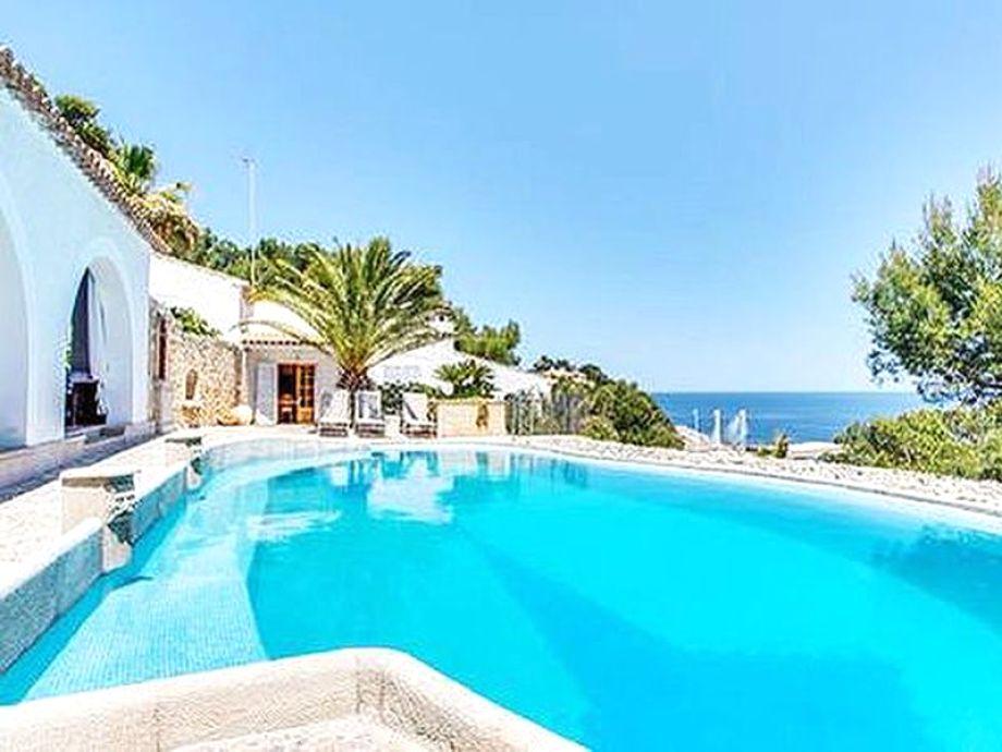 Villa Tres Casitas mit Pool und einzigartigen Meerblick