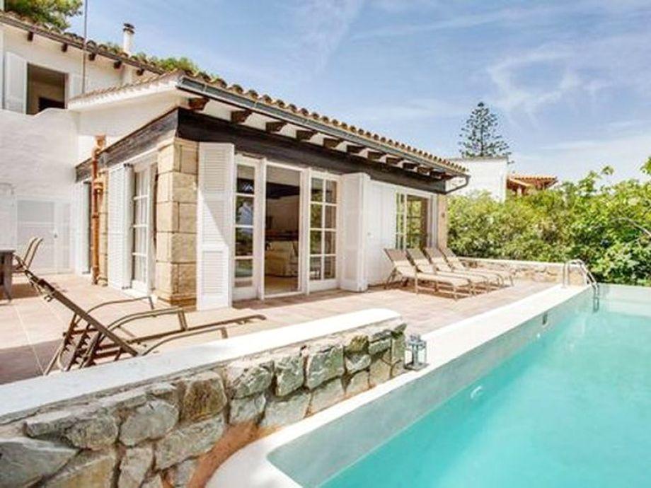 Villa Calita mit Pool bei Font de sa Cala