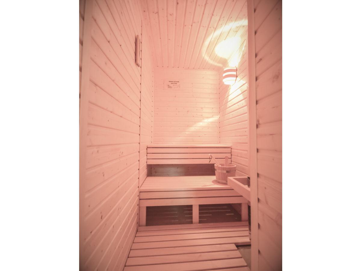Ferienwohnung stadt chalet appartement 4 harz firma - Sauna appartement ...