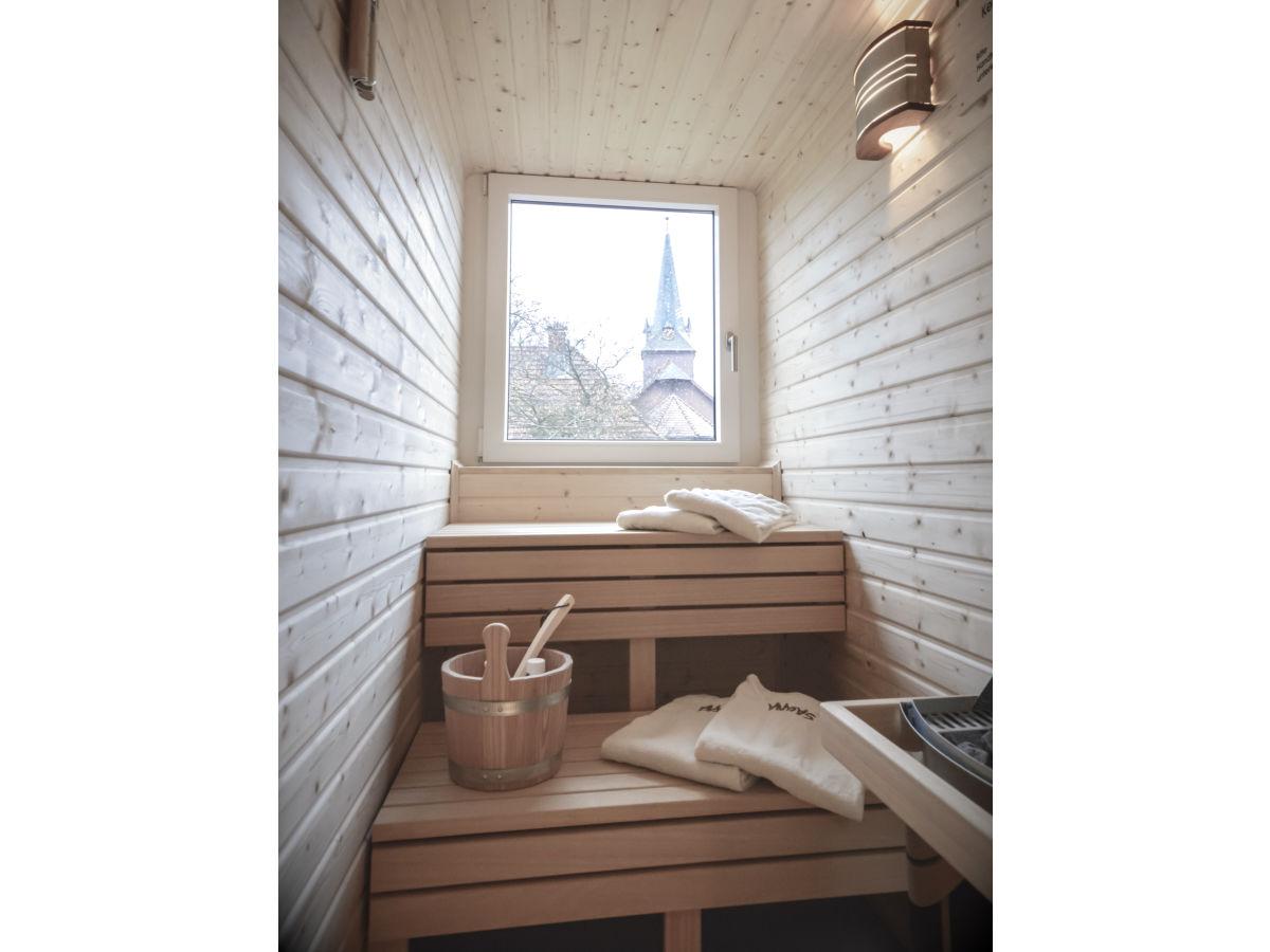 Ferienwohnung stadt chalet appartement 12 harz firma - Sauna appartement ...