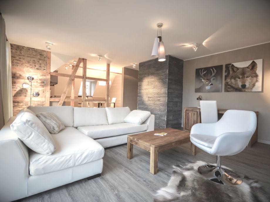ferienwohnung stadt chalet appartement 14 oberharz firma strandberg ferienwohnungen frau. Black Bedroom Furniture Sets. Home Design Ideas