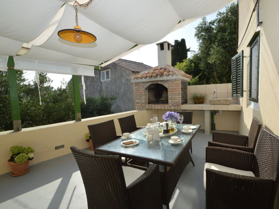 Casa Nona - lovely terrace with barbecue