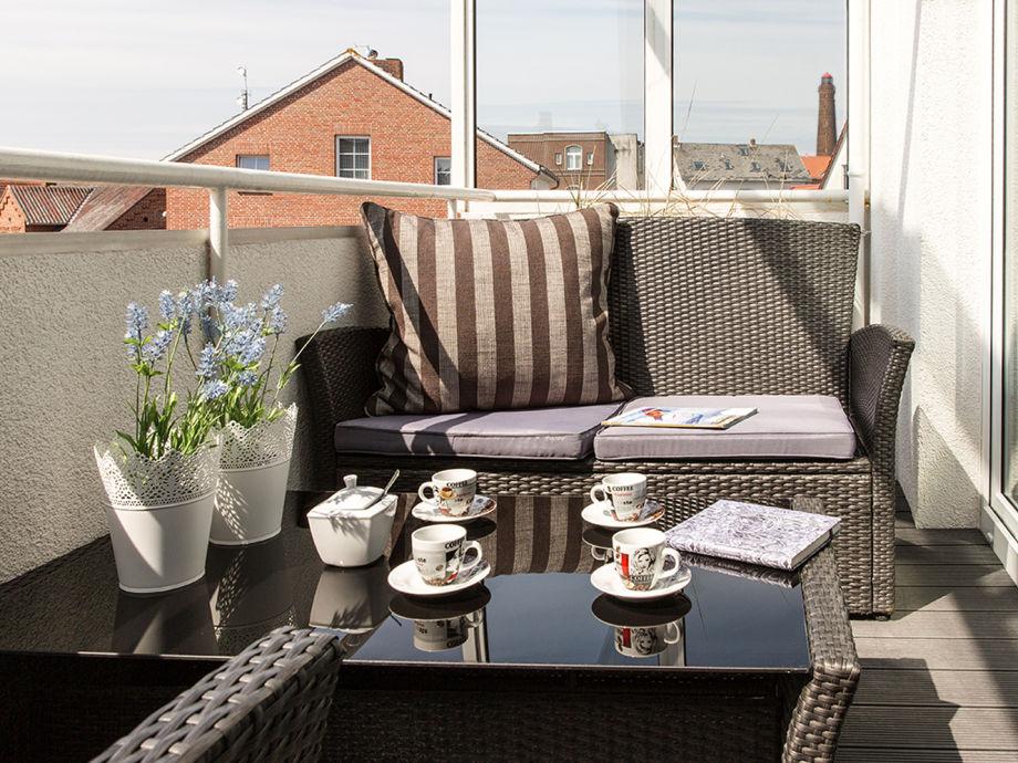 Überdachte Terrasse mit vielen Sonnenstunden