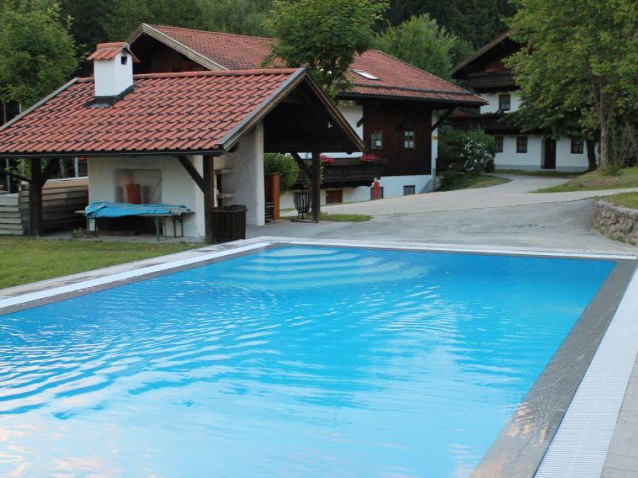 Freischwimmbecken geöffnet von Mai -Sept.