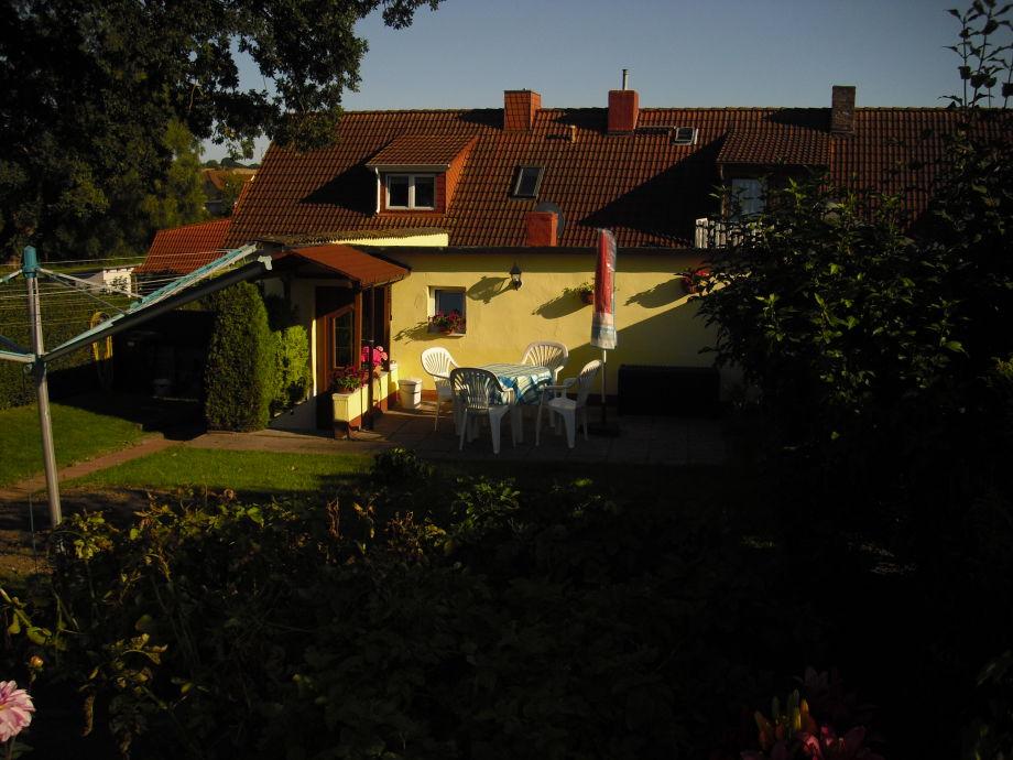 Außenaufnahme im Haus Dora
