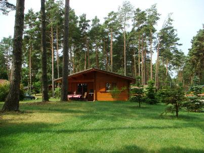 Am Ellbogensee in Waldrandlage