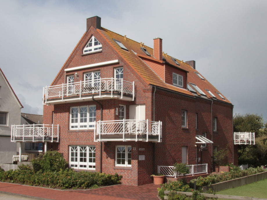 Außenansicht des Hauses Sanderling
