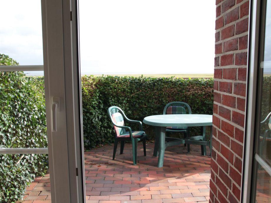 Terrasse mit Wattblick