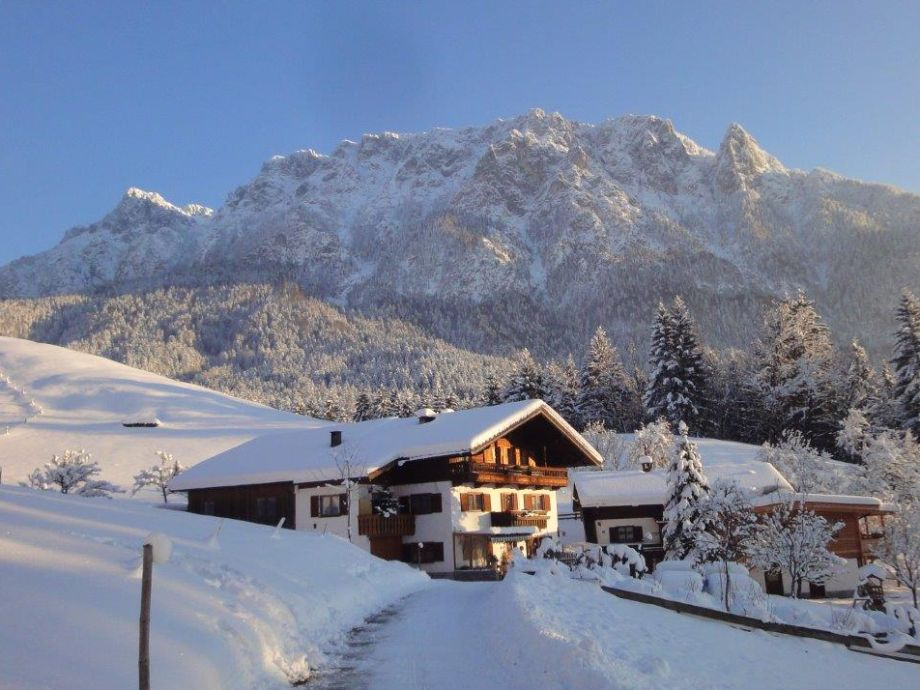 Ferienwohnung Ebbs Skiurlaub Kaisergebirge