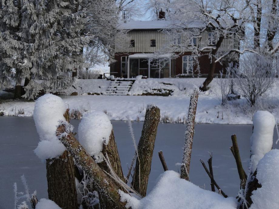 NATÜRlich Wassermühle im Winter