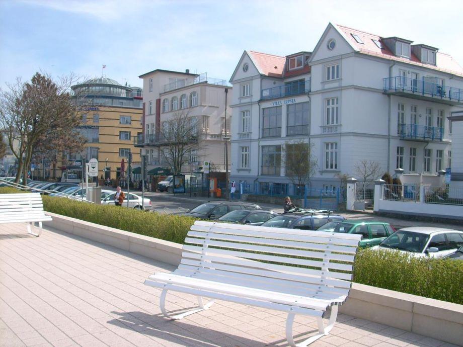 Außenaufnahme Seeblick in der Villa Lipsia