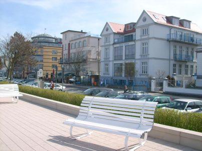 Seeblick in der Villa Lipsia