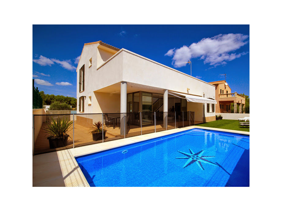 Außenaufnahme Moderne Villa Juan Son Serra | 44098
