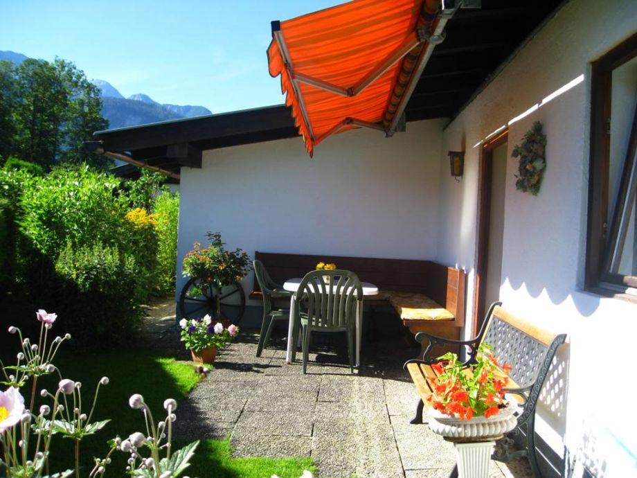 Terrasse mit Privatsphäre