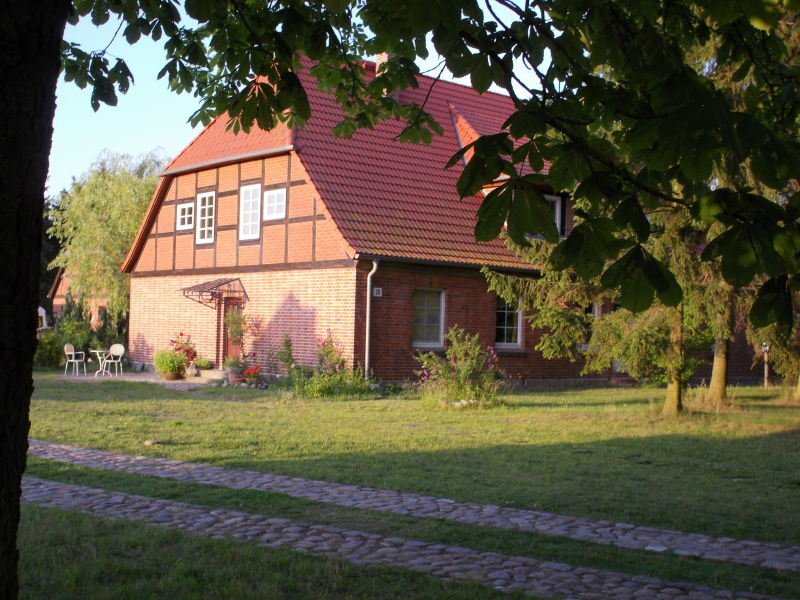 Holiday apartment I in the country house at the Wildpark Boek