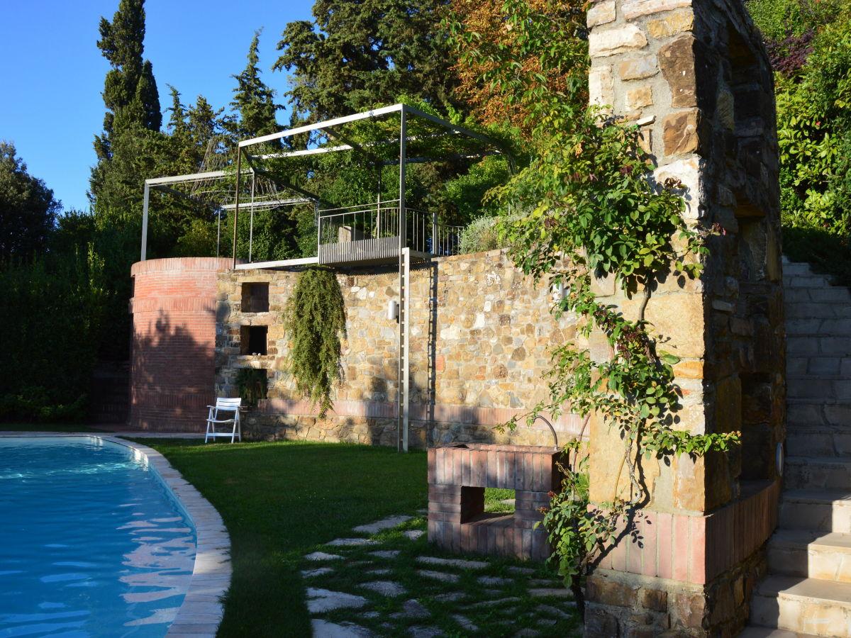 Ferienwohnung i casaloni toscana chianti firma i for Garten schwimmbecken
