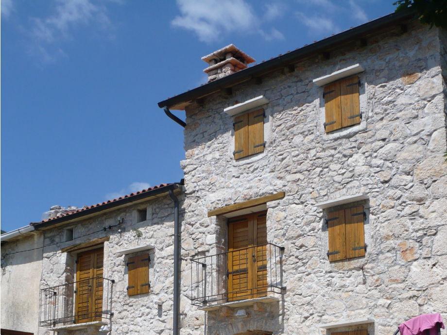 Casa Mira (l) und Casa Mare