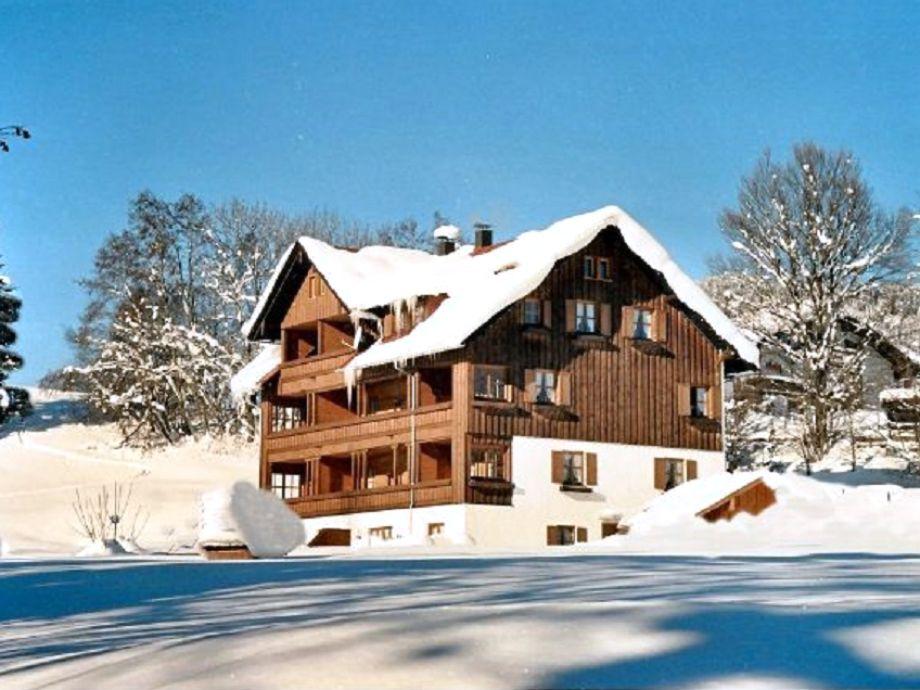 Ferienwohnung Reute im Winter