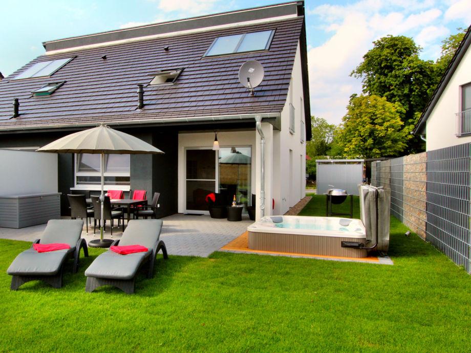 Gartenansicht der Casa Oasis
