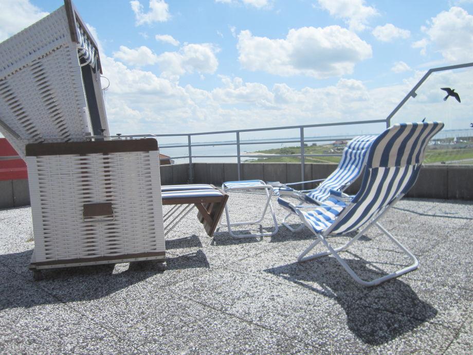 Relaxen auf der Dachterrasse