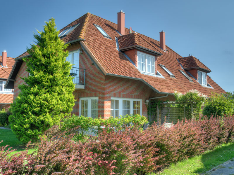 Holiday apartment By the golf course over 2 storeys.