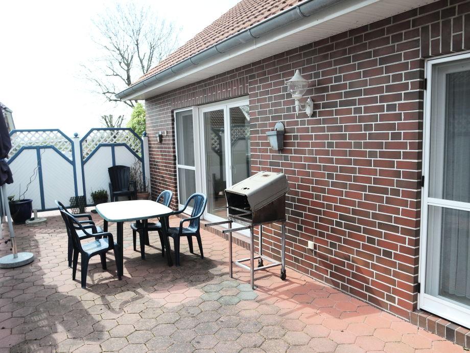 Terrasse mit Grill