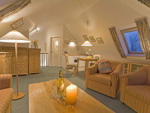 Holiday apartment at the golf course, situated on the attic floor
