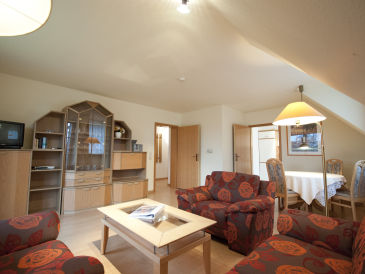 Holiday apartment at the golf course, situated upstairs