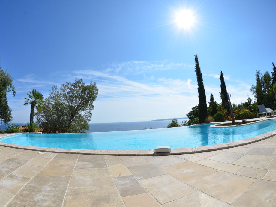 Pool and sea - view
