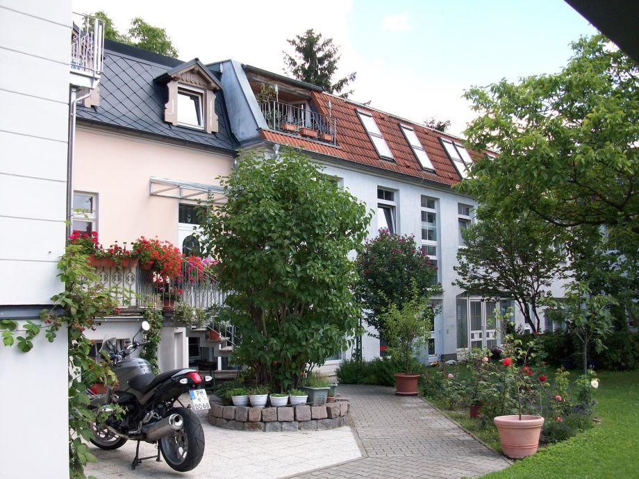 Stadtvilla Innenhof