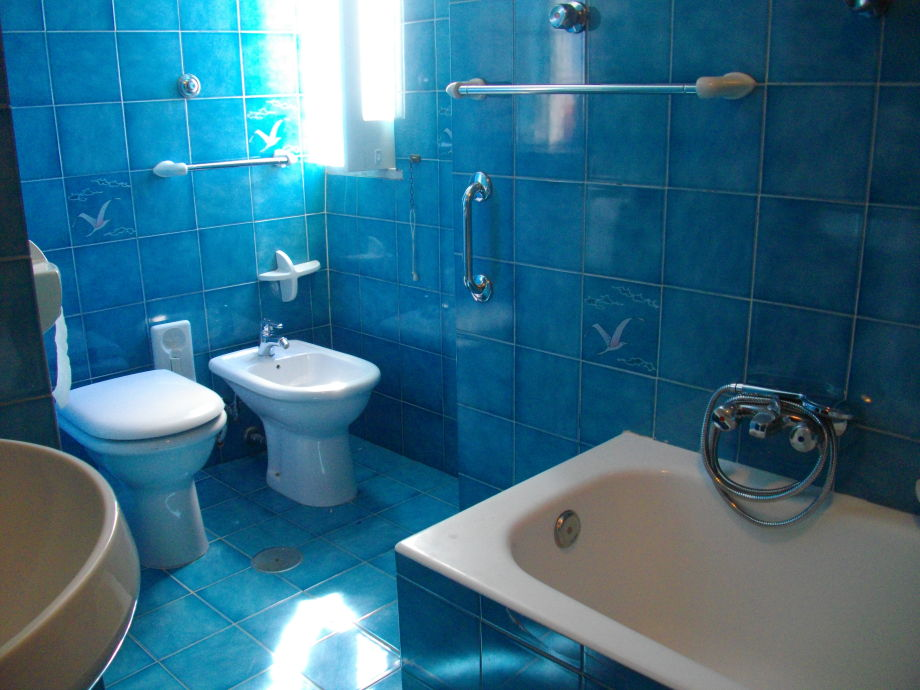 Großes Bad mit Wanne/Dusche