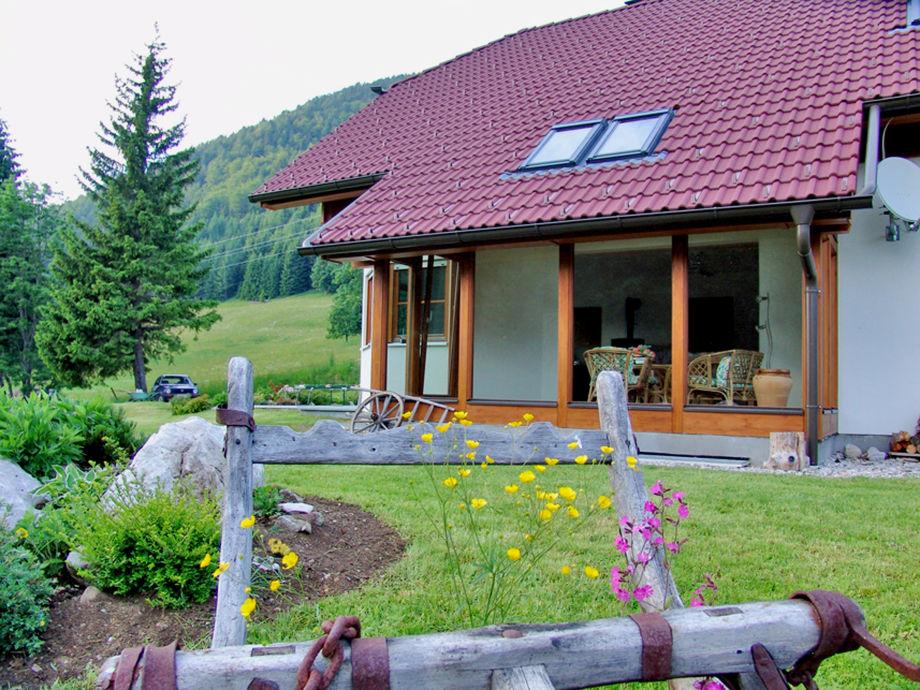 Ferienhaus mit Wintergarten