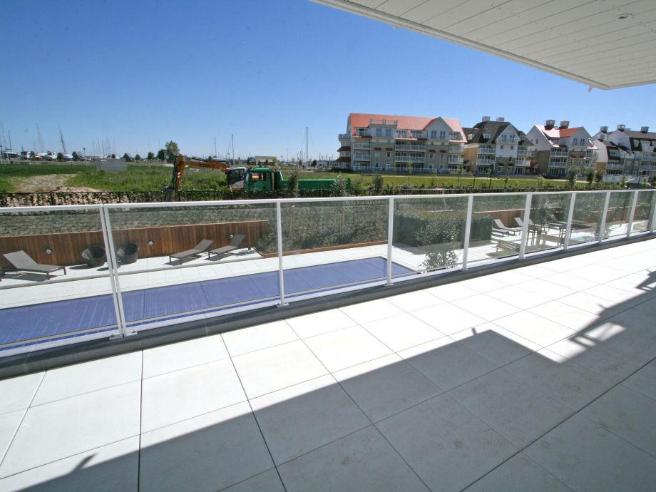 Der Ausblick von der Terrasse
