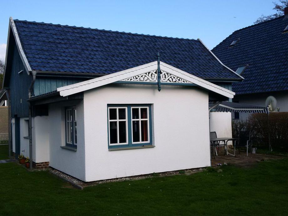 Ferienhaus Gabi 2 von der Gartenseite