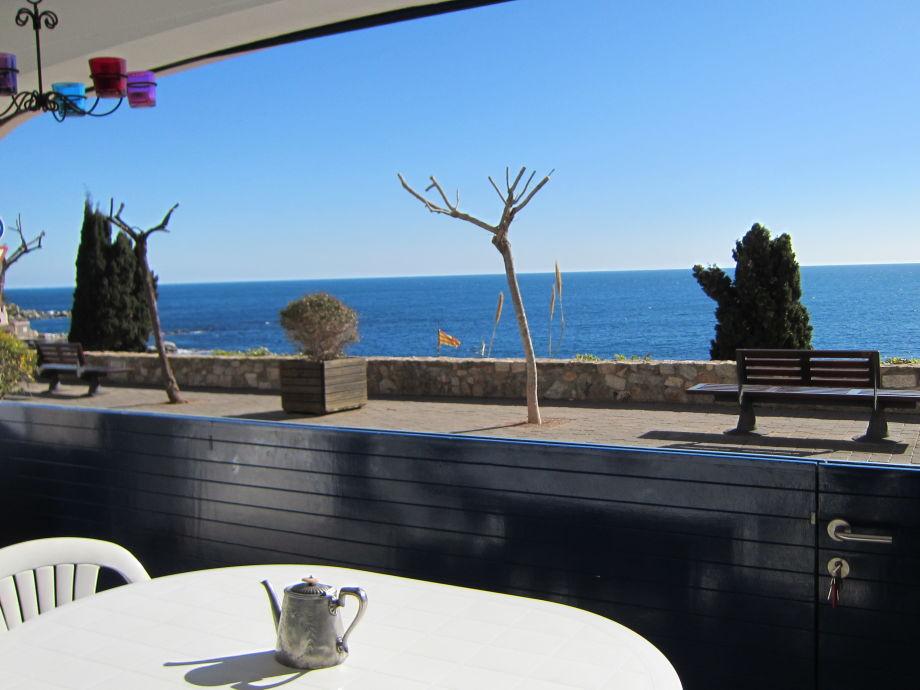 Panoramablick auf das Meer