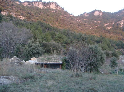 Bergerie la Falaise - das Hügelhaus