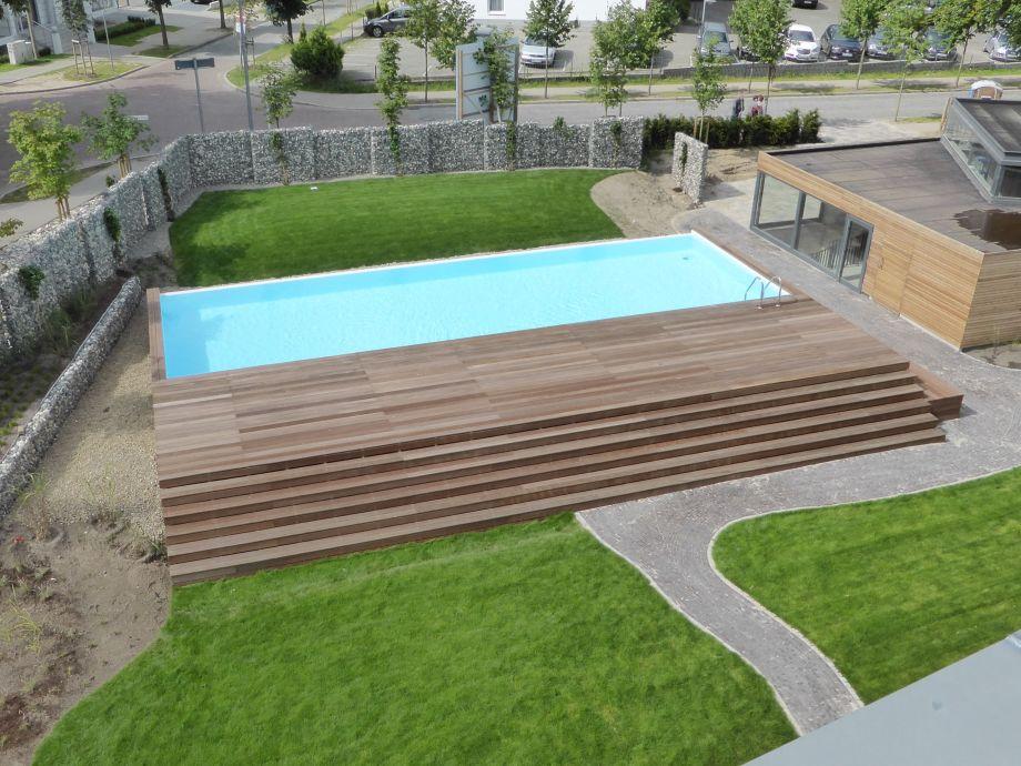 Ferienwohnung binz 02 parkvilla augustine im kurpark for Aussenpool komplett