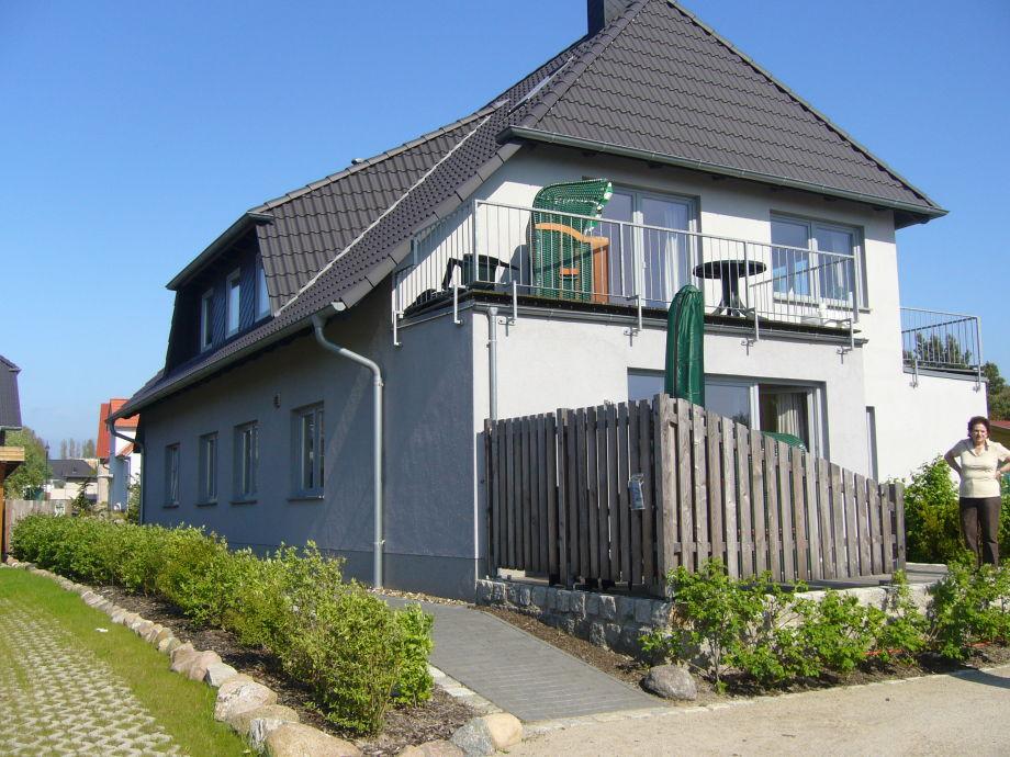 Wohnung Nr. 4 mit Terrasse und Strandkorb