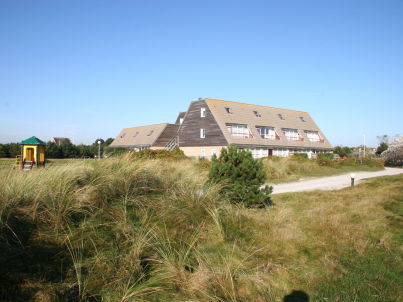 Uitwaaien on the island Ameland