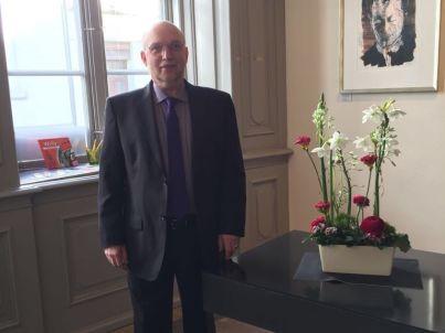 Ihr Gastgeber Wolfgang Steen