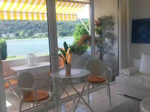 Apartment mit top Rheinblick in bester Lage