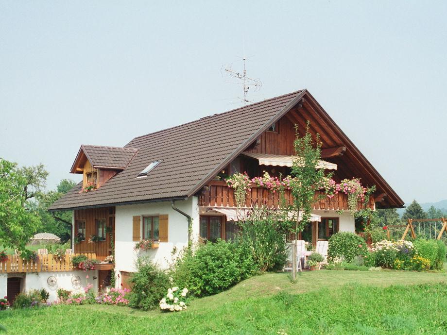 Unser Landhaus, Balkon der Ferienwohnung
