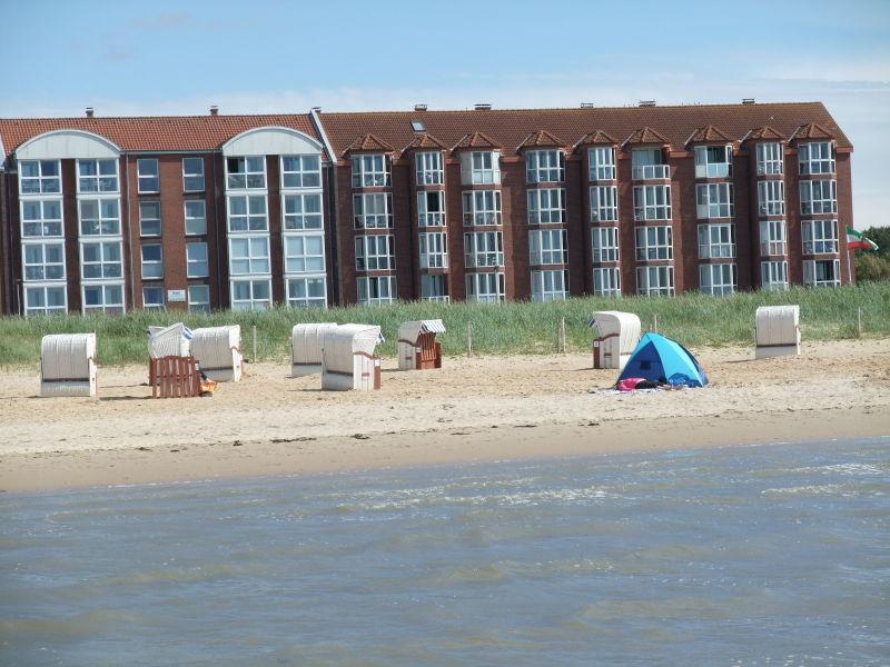 Ferienwohnung Panorama-Meerblick Cuxhaven direkt vorne am Strand