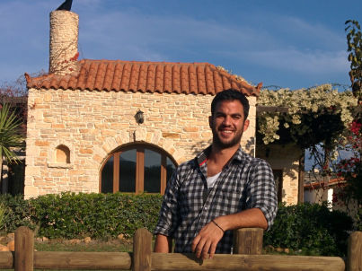 Your host Giannis Sfakakis