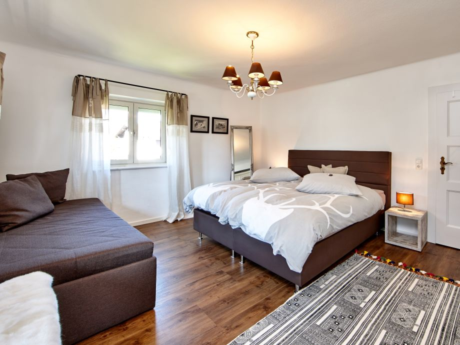 Schlafzimmer 1 für zwei Personen