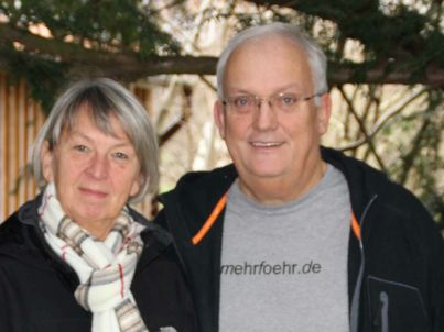 Ihr Gastgeber Angelika u. Dieter Fienhold