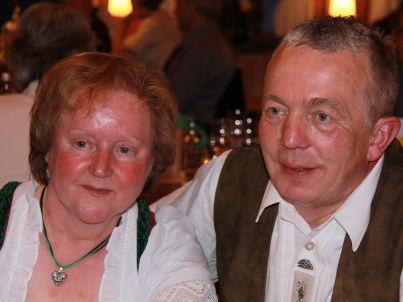 Ihr Gastgeber Franz und Klara Scherer
