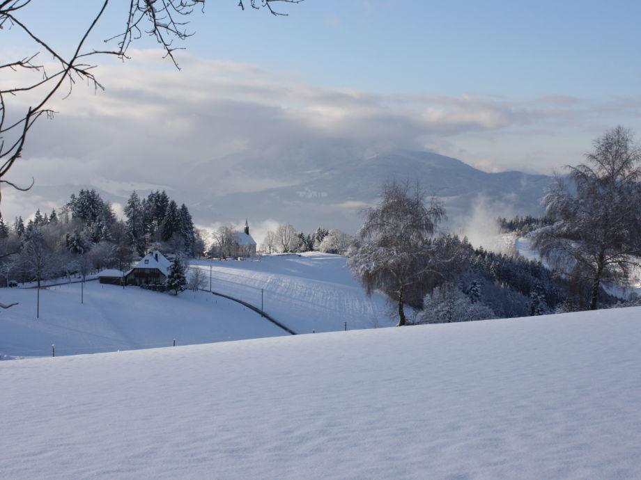 Haus Scherer im Winter
