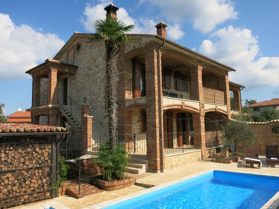Ferienwohnung in der Villa Daria in Istrien