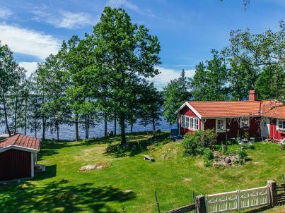 Schweden am Zander See Rusken